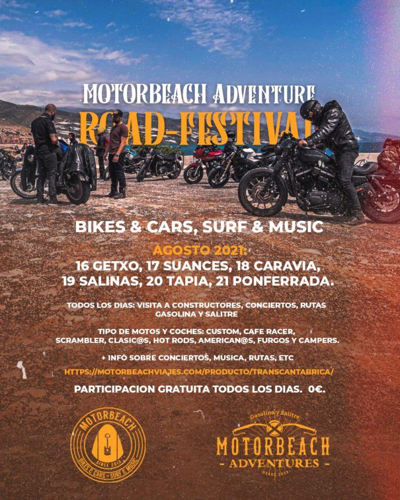 Motorbeach Road Festival - 16 al 22 Agosto