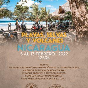 NICARAGUA – PLAYAS Y VOLCANES
